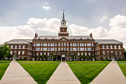 Steeple Prints - University of Cincinnati McMicken College Hall Print by Paul Velgos