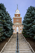 University Of Cincinnati Prints - University of Cincinnati McMicken Hall Print by Paul Velgos