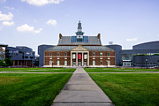 Exterior Prints - University of Cincinnati Tangeman University Center  Print by Paul Velgos