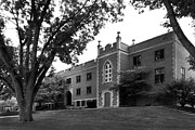 Small Town Prints - University of Dubuque Van Vliet Hall Print by University Icons