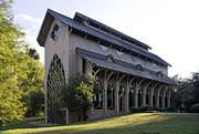Lynn Palmer Studios Photos - University of Florida Chapel on Lake Alice by Lynn Palmer