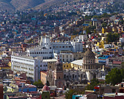 University Of Guanajuato Print by Douglas J Fisher
