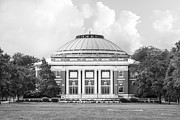 College Prints - University of Illinois Foellinger Auditorium Print by University Icons
