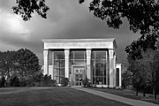 Art Museum Photo Prints - University of Illinois Kinkead Pavilion Print by University Icons