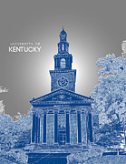 Fraternity Digital Art Prints - University of Kentucky Memorial Hall Print by Myke Huynh