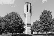 University Of Michigan Metal Prints - University of Michigan Lurie Bell Tower Metal Print by University Icons