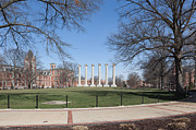 Universities Art - University of Missouri Quad by Kay Pickens