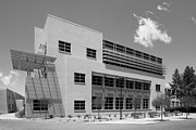 University Of New Mexico Castetter Hall Print by University Icons