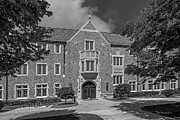 University Of Notre Dame Coleman- Morse Center Print by University Icons