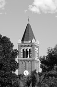 Southern Universities Prints - University of Southern California Clock Tower Print by University Icons