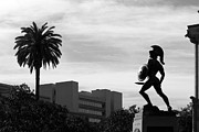 Universities Photo Prints - University of Southern California Tommy Trojan Print by University Icons
