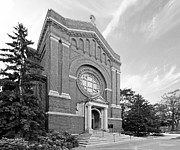 Thomas Metal Prints - University of St. Thomas Chapel of St. Thomas Aquinas Metal Print by University Icons