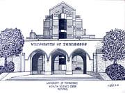 University Of Tennessee Print by Frederic Kohli