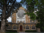 Brick Schools Photo Metal Prints - University of the South Church Metal Print by Cilene Bosch