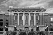 Panthers Prints - University of Wisconsin Milwaukee Mitchell Hall Print by University Icons