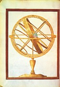 Armillary Framed Prints - Unknown, Armillary Sphere, 1612 - 1615 Framed Print by Everett