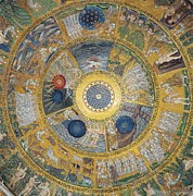 Unknown Artist, Cupola Of The Creation Print by Everett
