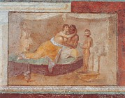 Mural Photos - Unknown Artist, Erotic Scene, 1st by Everett