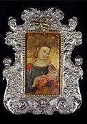 Christ Child Photo Prints - Unknown Artist, Madonna And Child, 14th Print by Everett