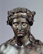 Dionysus Photos - Unknown Artist, Statue Of Dionysus, 1st by Everett