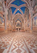 Vaults Photos - Unknown Artist, Upper Basilica Of San by Everett