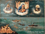 Saint Joseph Posters - Unknown, Ex-voto. The Storm, 1895, 19th Poster by Everett