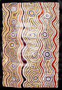 Aboriginal Art Paintings - Unknown by Ruby James