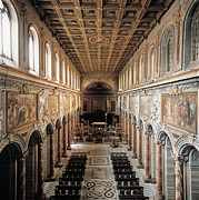 Nave Prints - Unknown, San Marco Basilica, 336, 4th Print by Everett