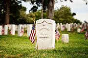 Grave Photos - Unknown U.S. Soldier by Scott Pellegrin