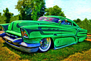 Classic Hot Rods Prints - Unleaded  Print by Michael Pickett