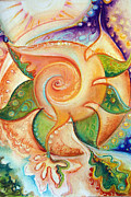 Star Pastels Metal Prints - Unlimited Star Potential Metal Print by Bettina Star-Rose