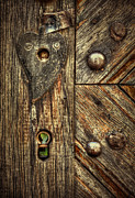 Wood Art - Unlock My Heart by Evelina Kremsdorf