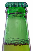Bottle Green Prints - Unopened Print by Dan Holm