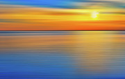 Dan Carmichael Framed Prints - Unseen Sunset - a Tranquil Moments Landscape Framed Print by Dan Carmichael