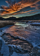 Big Thompson River Prints - Until The Last Possible Moment Print by Mike Berenson