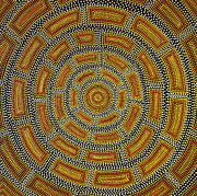 Aboriginal Art Paintings - Untitled 4 by Aneta Srodon