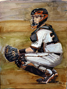 Sf Giants Prints - Untitled Print by Darren Kerr