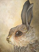 Bunny Paintings - Untitled by Libby Siedell