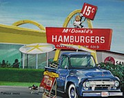 Mcdonalds Paintings - Untitled by Sherd Maynard