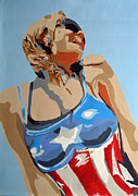 All-star Painting Prints - Untitled Print by TJ Porter
