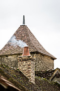Apremont Posters - Unusual roof Poster by Oleg Koryagin