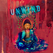 Meditation Prints - Unwind Print by Tara Catalano