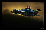 Blake Richards Framed Prints - Uop Shadow f1 Car Framed Print by Blake Richards