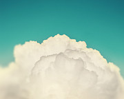 Cloud Photography Posters - Up Above the Clouds Poster by Amy Tyler
