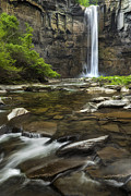 Taughannock Falls Photos - Up High by Bill  Wakeley