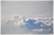 Heavens Digital Art Prints - Up In the Clouds Print by Bill Cannon