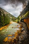 Randall Branham - Up the Animas River Train