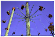 Luna Metal Prints - Up Up and Away 2013 - Coney Island - Brooklyn - New York Metal Print by Madeline Ellis