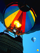 Balloon Fiesta Posters - Up Up and Away Poster by ABeautifulSky  Photography