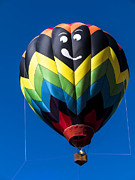 Up Up And Away In My Beautiful Balloon Print by Edward Fielding